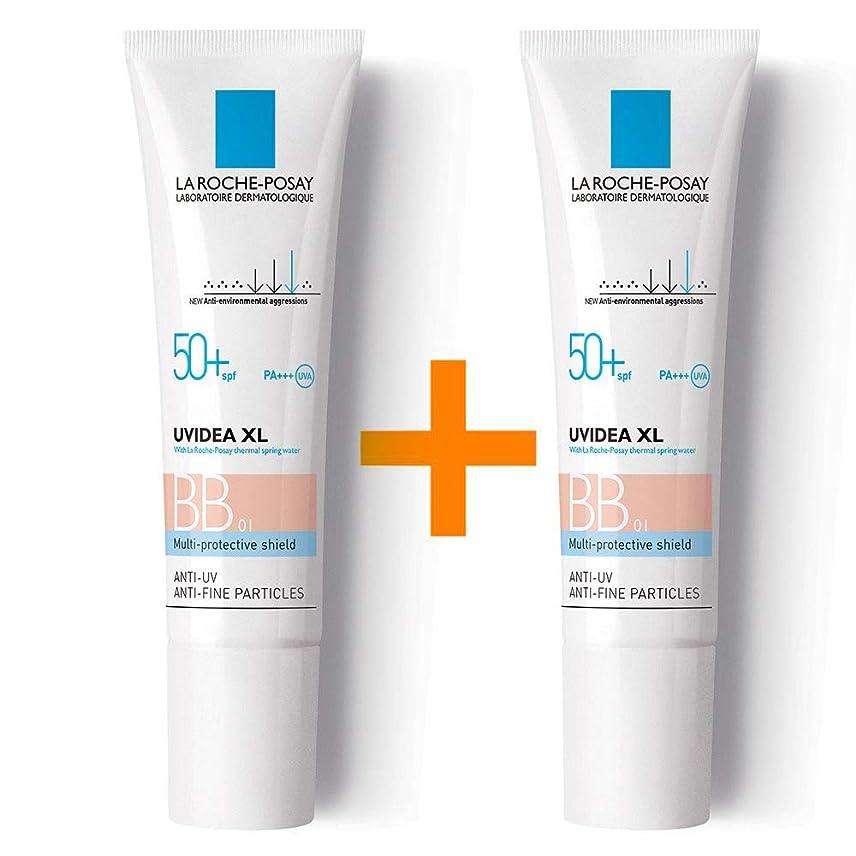 鮮やかな快いスクラップブック[ 1 + 1 ] La Roche-Posay ラロッシュポゼ UVイデア XL プロテクションBB(01ライト) Uvidea XL BB Cream - #01 (30ml) SPF50+ PA++++ フランス日焼け止め