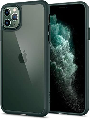 Spigen Ultra Hybrid Compatible with iPhone 11 Pro Case, One-Piece Transparent PC Back Case Mobile Phone Case for iPho...