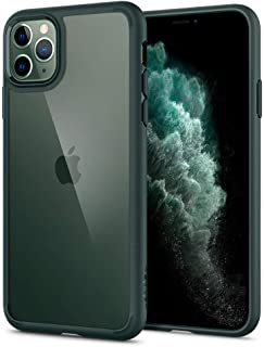 Spigen Ultra Hybrid designed for iPhone 11 PRO case cover - Midnight Green