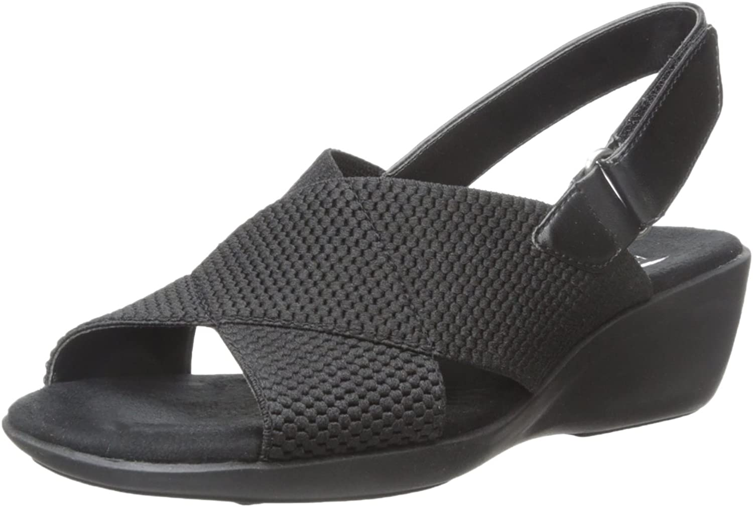 Aerosoles Women's Badlands Wedge Sandal Black
