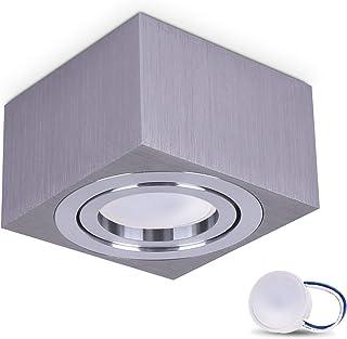 comprar comparacion JVS Luminaria de montaje en superficie Luminaria de montaje en techo MILANO SMALL 5W LED Módulo extraplano blanco cálido 2...