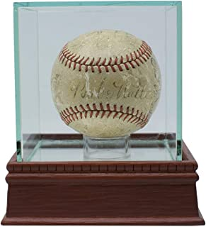 babe ruth lou gehrig signed ball
