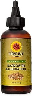 Tropic Isle Living Black Castor Hair Growth Oil (4 ounce)