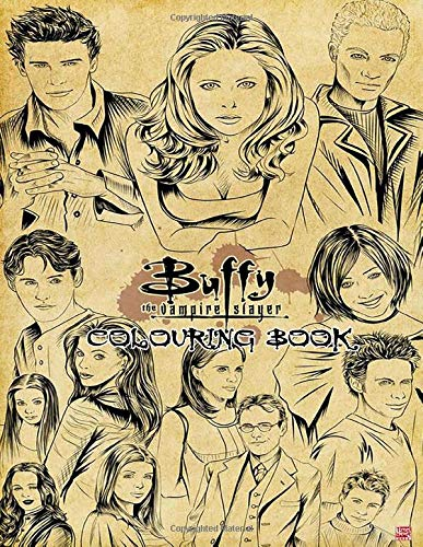 Buffy The Vampire Slayer Colouring Book: Ultimate Color Wonder Buffy The Vampire Slayer Colouring Book With Mess Free Coloring, Wonderful Gift for Adults