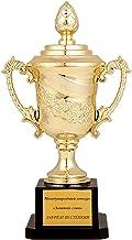 Feestartikelen voor kinderen - Plastic trofeeën Gouden plastic winnaar voor School Sportdag of Mini Olympisch Evenement Cr...