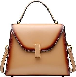 Heshe Leather Shoulder Handbags for Women Designer Ladies Purses Tote Top Handle Bag Cross Body Bag