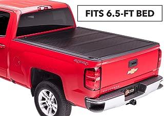 BAKFlip F1 Hard Folding Truck Bed Tonneau Cover   772121   fits 2014-19 GM Silverado, Sierra 6' 6