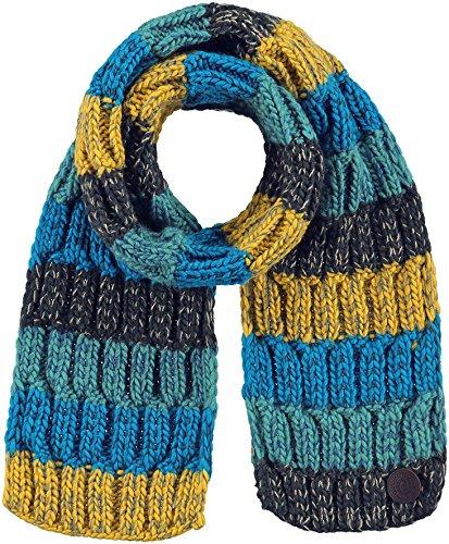 Barts sjaal van mesh, groen en blauw, voor kinderen en jongens
