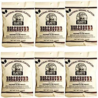 Claeys Old Fashioned Hard Candy - 6 Pack - Horehound - Since 1919