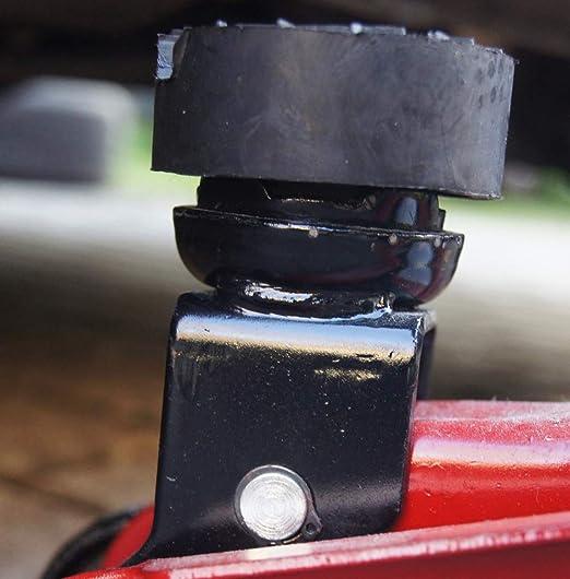 Gummiauflagen Zum Reifenwechseln über 50 Varianten Rangierwagenheber Wagenheber Hebebühne Gummiklotz Auflage Unterstellbock Gummiblock Auto Kfz Pkw Schutz Kratzer Rund Eckig 4 Stück Raute 80x10 Auto