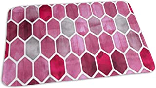 Changing Pad Watercolor Hexagon Pattern Baby Diaper Urine Pad Mat Personalized Girls Waterproof Sheet Sheet for Any Places for Home Travel Bed Play Stroller Crib Car