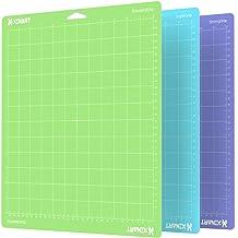 XINART Cutting Mat for Cricut Maker/Explore Air 2/Air/One(12x12 Inch, 3 Mats, StandardGrip, LightGrip, StrongGrip) Multipl...