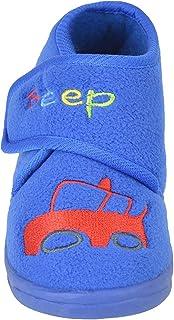 Dinzio Toddler Boy Car Beep Slipper