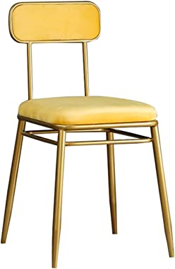 Comfortable Manicure Chair, Color Student Armchair Dressing Table Stools for Bedroom Restaurant Coffee Shop Dining Chairs(Col