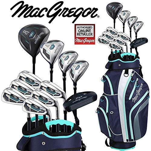 «nouvelle 5120,6cm Macgregor DCT Premium Deluxe Set de golf complet pour femme & Sac pour...