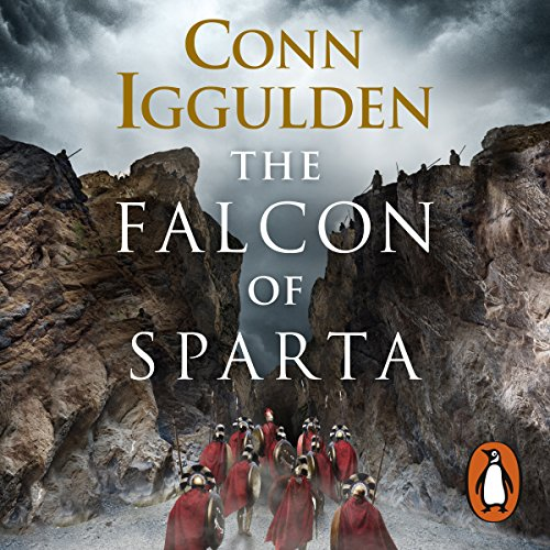 The Falcon of Sparta audiobook cover art