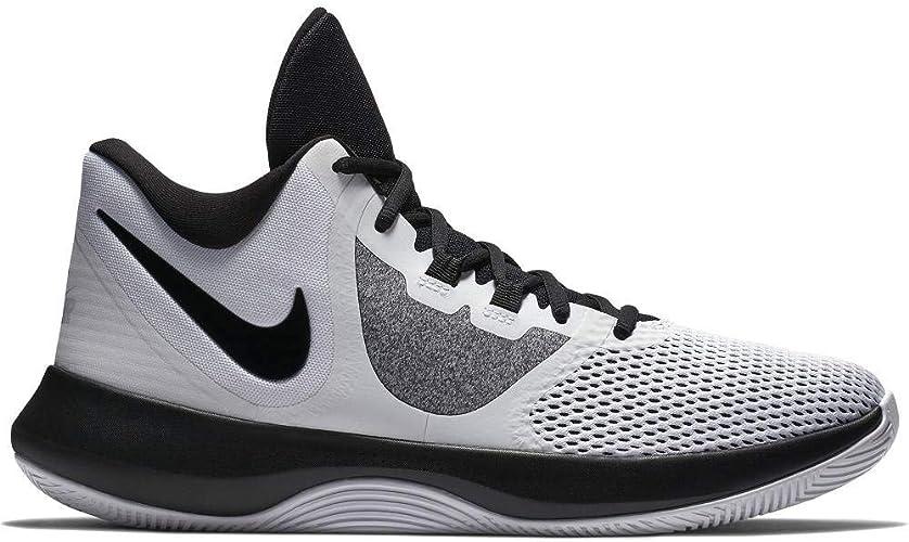 Nike Air Precision II, Chaussures de Fitness Homme, Blanc (blanc noir 100), 46 EU