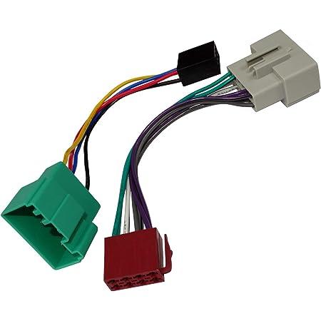 Aerzetix Ak5 Iso Konverter Adapter Kabel Radioadapter Radio Kabel Stecker Iso Kabel Verbindungskabel Volvo S40 S60 S70 S80 V40 V70 Konform Auto