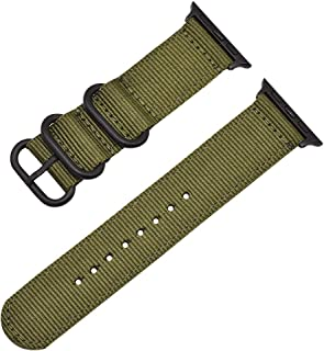 Autulet Band For Apple Watch Band 38Mm 40Mm 42Mm 44Mm Nylon Nato Iwatch Band Apple Watch Series 4/3/2/1