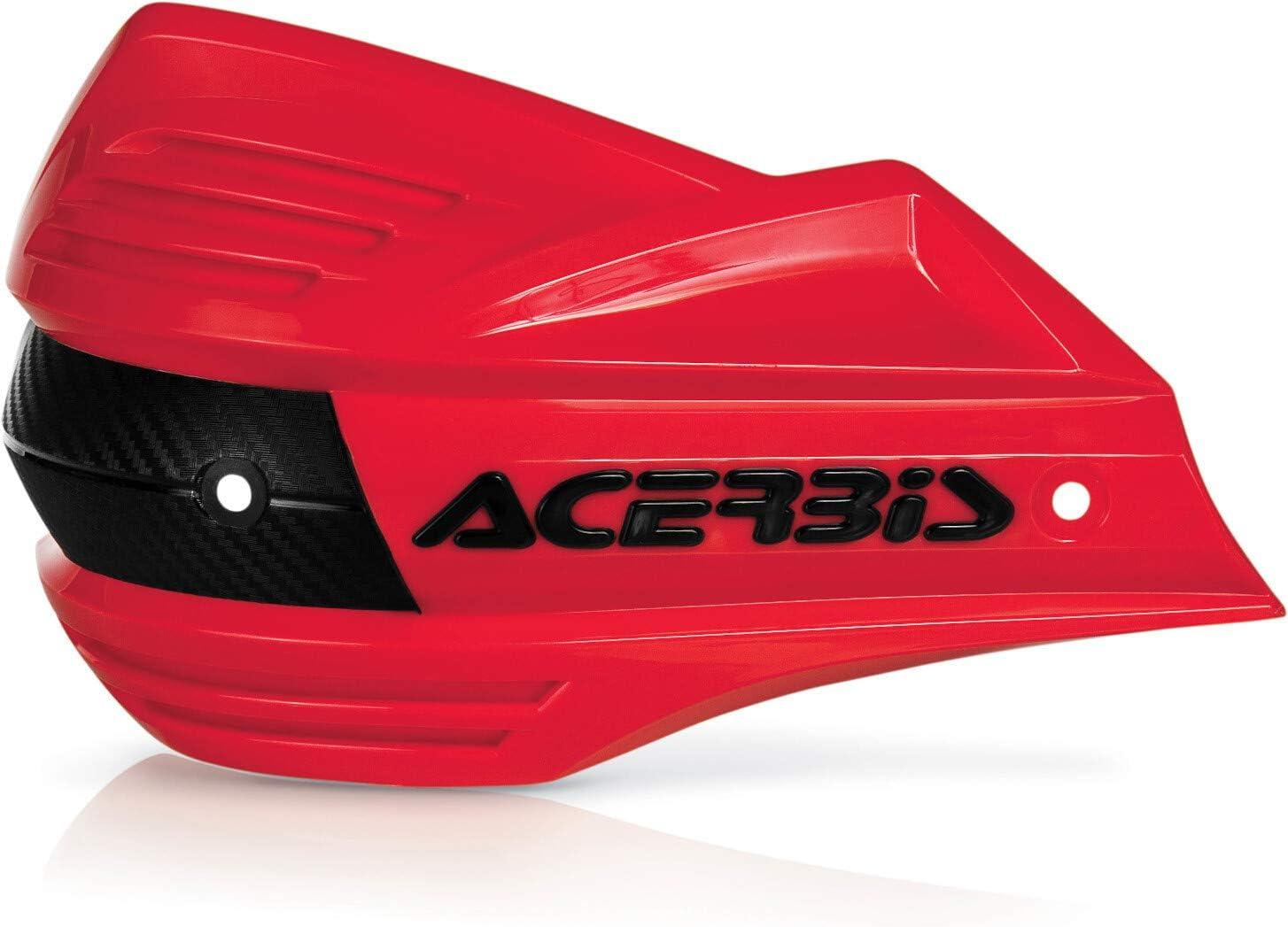 Acerbis Outlet sale feature Handshields X-Factor Red 2393480004 Under blast sales