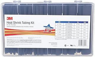 3M Heat Shrink Tubing Assorted Black Kit FP-301-Black