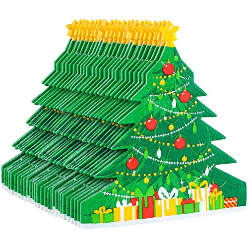 Aneco 60 Pack Christmas Tree Paper Napkins Disposable Paper Napkins Party Supplies Fancy Cocktail Napkins for Christmas Party