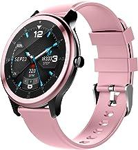 Docooler G28 Smart Watch, Bt 5.0 Smart Bracelet Fitness Tracker, hartslagmeter met slaapmonitor, stappenteller, activiteit...