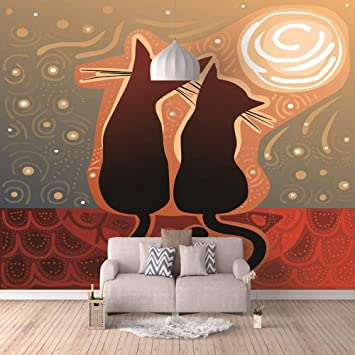 6 Dimensioni Poster Poster Decorazione da Muro Gatto Ref 35493205
