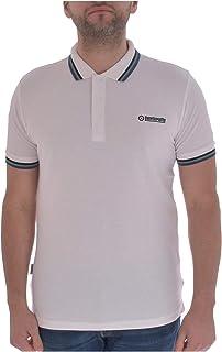 Lambretta Mens Triple Tipped Cotton Short Sleeve Casual Polo Shirt Top