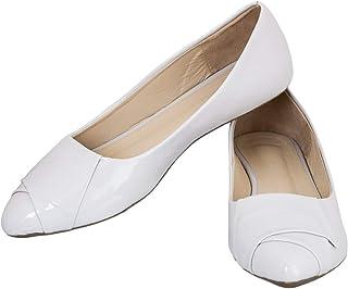 56f54b7219f9d White Women's Ballet Flats: Buy White Women's Ballet Flats online at ...