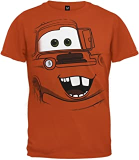 Cars (Movie) - Boys Mater Face Juvy T-Shirt OG Exclusive
