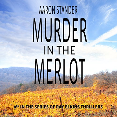 Murder in the Merlot audiobook cover art