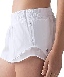 "LULULEMON Hotty Hot Short 2.5"" (White, 10)"