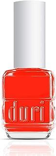 duri Nail Polish, 645N Windy City Roar, Neon Bright Orange, Matte, Opaque, 0.5 Fl Oz