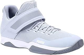 Puma Unisex's Rise Xt 3 Grey Dawn Heather White-t Badminton Shoes