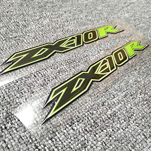 Motorrad-Aufkleber for Kawasaki Ninja ZX10R ZX10R ZX 10R Tankpad Verkleidungs Oberkörper Shell Dekoration Aufkleber Aufkleber Gas Knee