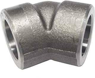 3000 PSI 1//4 NPT Female x 1//4 Socket Weld Carbon Steel A105 Forged Pipe Fitting Full Coupling