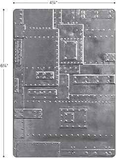 Sizzix (SIZC7) 662717 3-D Texture Fades Embossing Folder, Gray