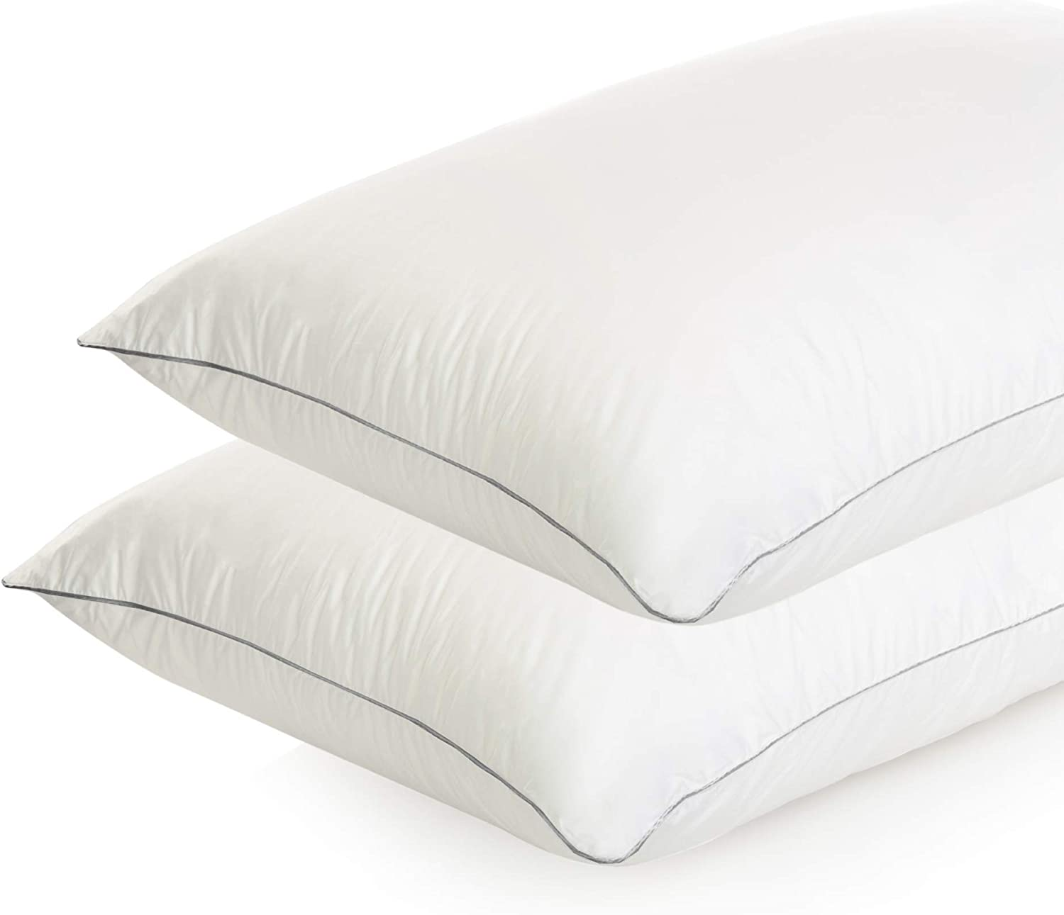 Bed Pillows Seasonal Wrap Introduction for Sleeping - Queen Size Manufacturer regenerated product of Pi Quality Hotel Set 2