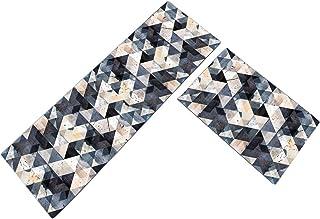 Basics Tapis imprim/é en mousse Motif ligne pointill/ée 60 x 100/cm