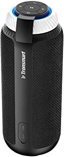 Bluetooth Speaker, Tronsmart Element T6 25 Watt Dual-Driver 15 Hours Playtime 360 Degree Surround Sound Portable Wireless Speaker with Deep Bass for iPhone 8 Plus X Android Samsung Note 8 Home Camping