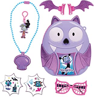 Vampirina Bootastic Boo-Tastic Backpack Play Set-8 Pieces, Multicolor