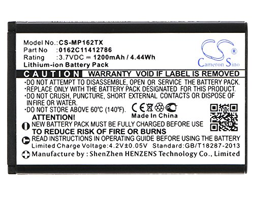 Sale!! Cameron Sino 1200mAh / 4.44Wh Li-ion High-Capacity Replacement Batteries for MX Pro MX Pro TV...