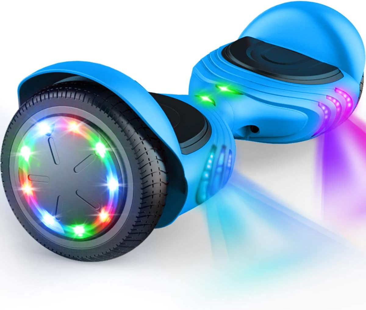TOMOLOO Hoverboard 価格 交渉 送料無料 with Bluetooth 休日 Certified Self Speaker UL2272