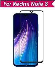 WOW Imagine | Full Edge-to-Edge for Xiaomi Redmi Note 8 Full Glue 5D Full Edge-to-Edge Screen Protection Tempered Glass for Xiaomi Redmi Note 8 - Black