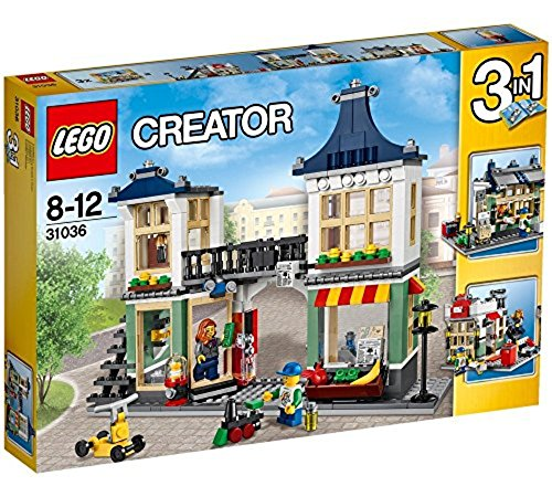 LEGO Creator 31036 - Spielzeug- und Lebensmittelgeschäft