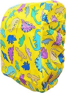 ランドセルカバー 黄色 恐竜柄 ランドセル レインコート カバー 雨対策 雪 入園 入学 通園 通学 登校 下校 天気 小学校