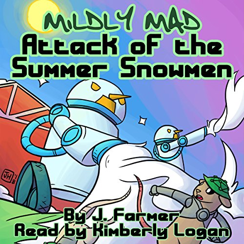 Attack of the Summer Snowmen audiobook cover art