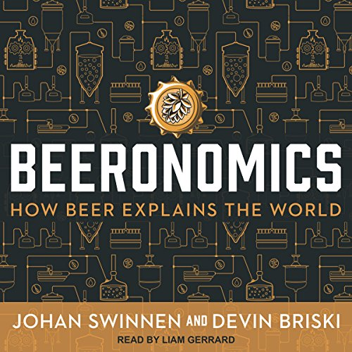Beeronomics audiobook cover art