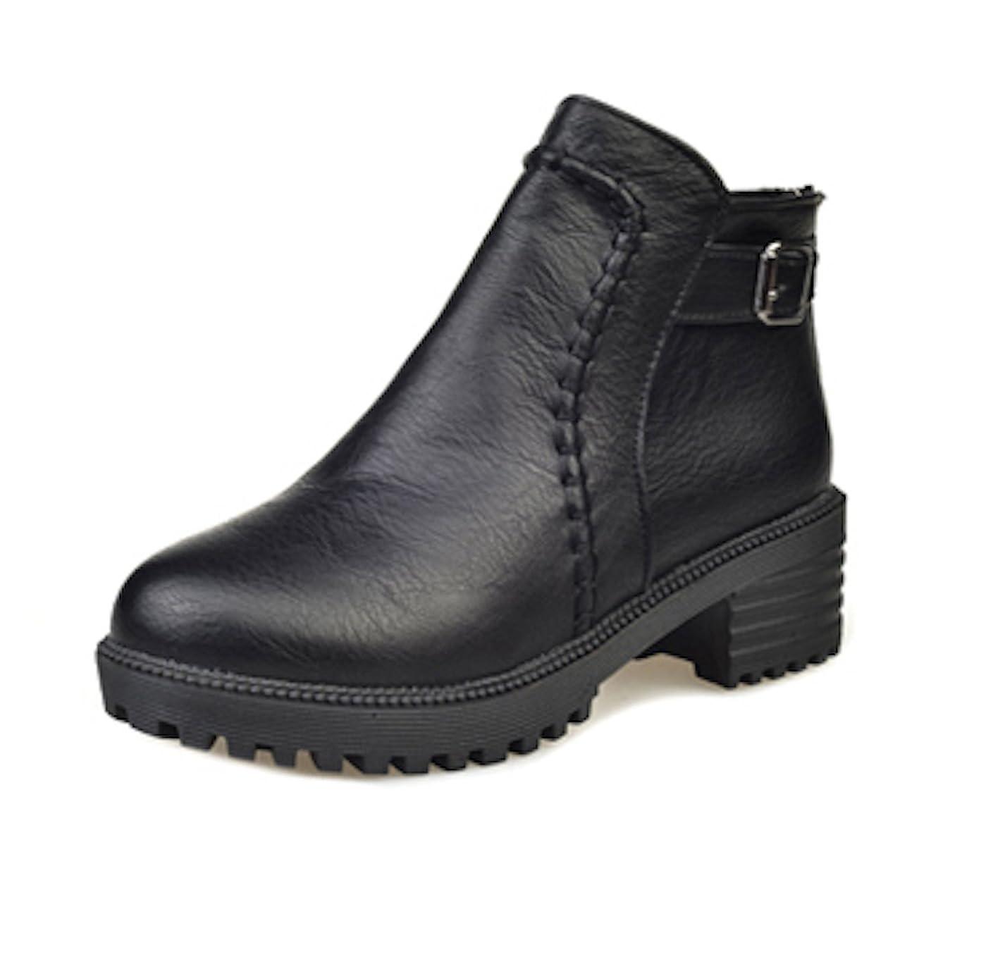 不安定なマキシム上に築きますウォーキングシューズ ブーツ レディース 革 レザー ビジネスシューズ 革靴 軽量 カジュアル